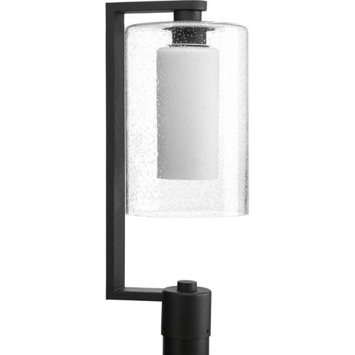 P6420-31 Compel Black 8-Inch One-Light Outdoor Post Lantern