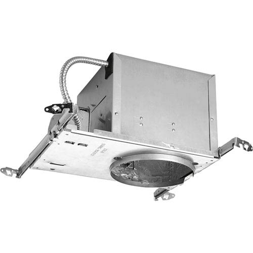 P645-AT Unfinished 6-Inch One-Light Air Tight Recessed Housing
