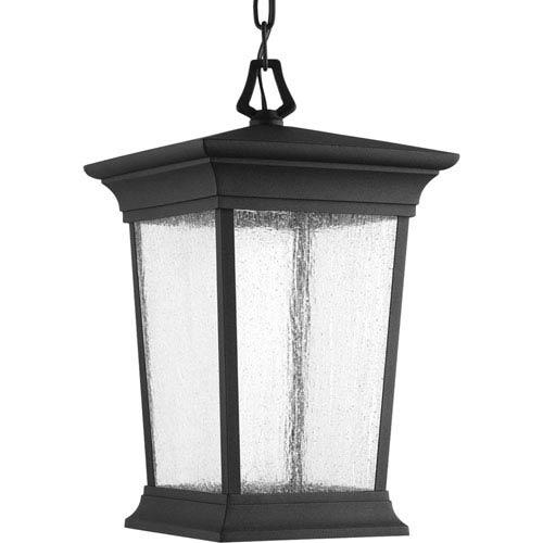 P6527-3130K9 Arrive Black 9-Inch One-Light Energy Star LED Outdoor Pendant