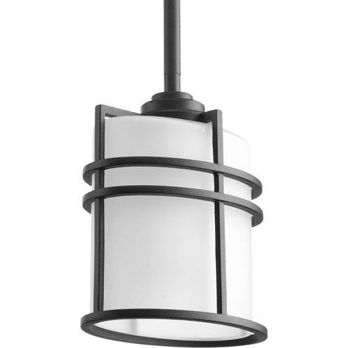 P6528-31 Format Black 6-Inch One-Light Outdoor Pendant