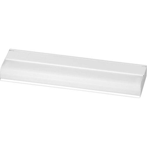 Progress Lighting White 1.18-Inch One-Light Undercabinet Light with White Acrylic Diffuser
