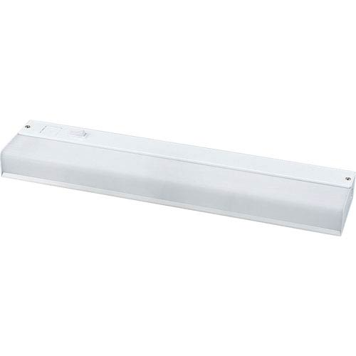 White 1.62 x 12.72-Inch One-Light Undercabinet Light