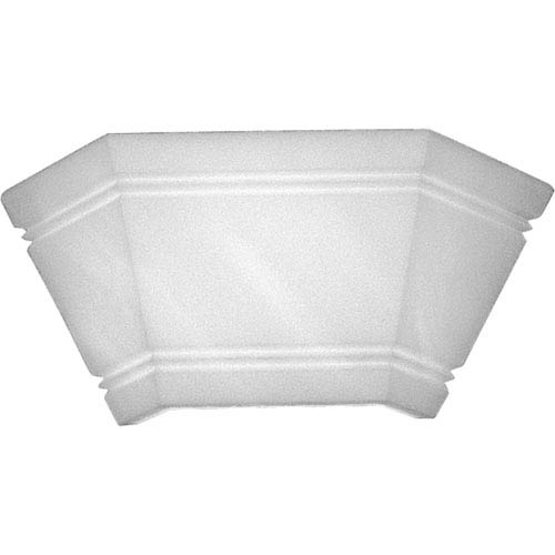 P7195-51 Faux Alabaster 15.5-Inch Wall Sconce