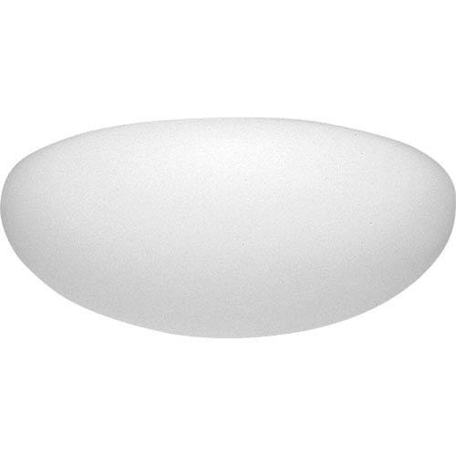 P7309-60:  White One-Light Fluorescent Ceiling Light