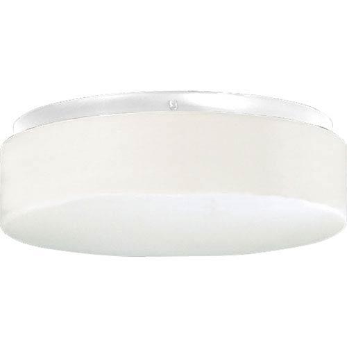 Progress Lighting P7376-3030K9 White 11-Inch One-Light Energy Star LED Flush Mount