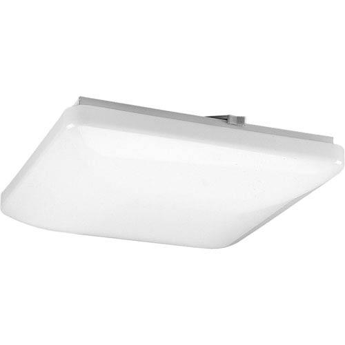 Progress Lighting P7382-30:  White Two-Light Fluorescent Ceiling Light