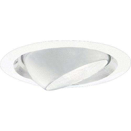 P8076-28:  6-Inch 120V White Incandescent Eye Ball Trim
