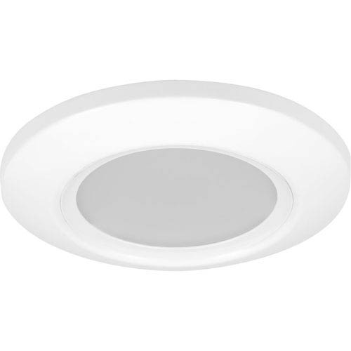 P8107-28/30K9 White One-Light Outdoor LED Flush Mount