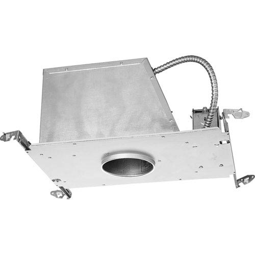 P817-AT Unfinished 4-Inch One-Light Low Voltage Recessed Housing