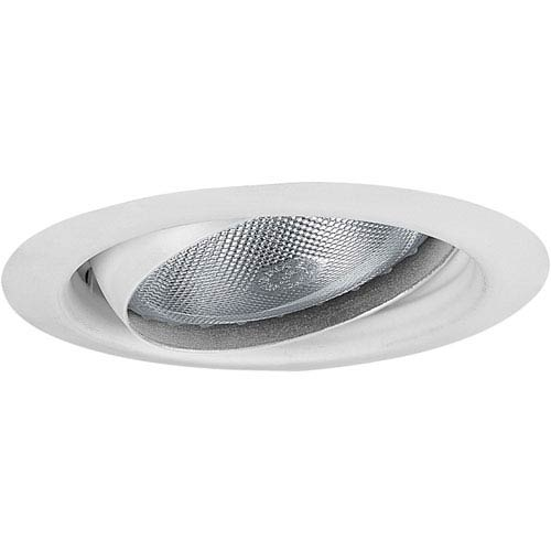 Eyeball Trim White One-Light Recessed-Trim
