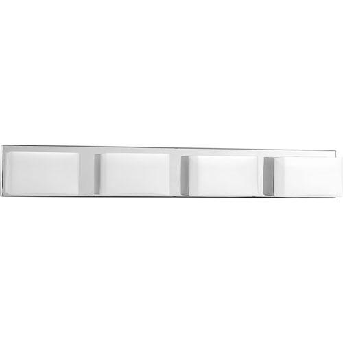 Ace Polished Chrome LED Four-Light Bath Sconce