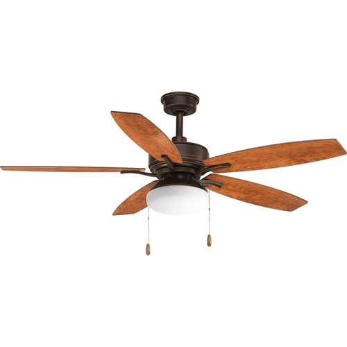 Billows Antique Bronze 52-Inch LED Ceiling Fan