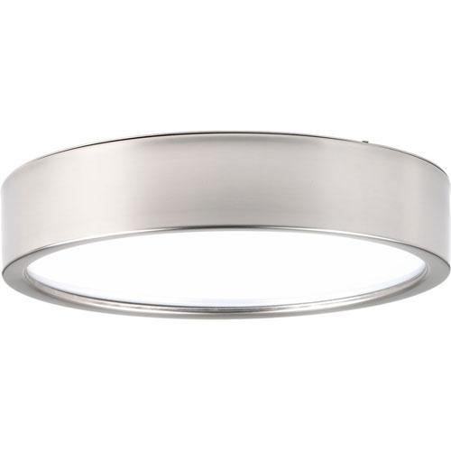 Portal Brushed Nickel LED 13-Inch One-Light Flush Mount