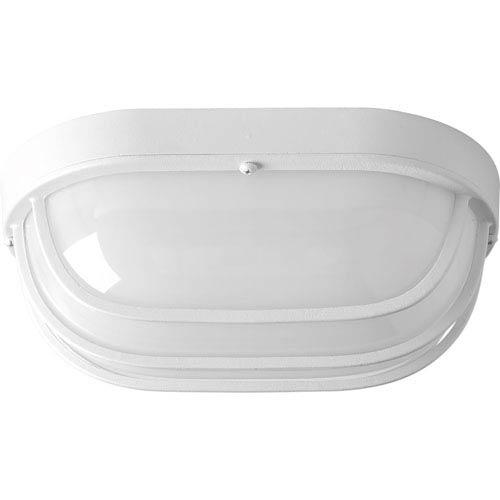 Bulkheads White LED 10.5 x 4.5-Inch One-Light Wall Sconce