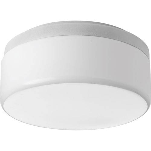 Maier White LED One-Light Flush Mount