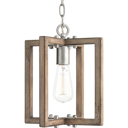 Turnbury Galvanized Finish One-Light Mini Pendant