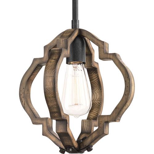 Spicewood Gilded Iron One-Light Mini Pendant