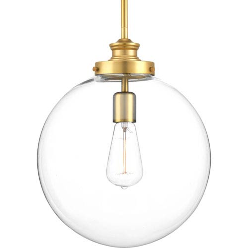 Penn Natural Brass One-Light Pendant