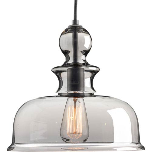 Staunton Graphite 12-Inch One-Light Pendant