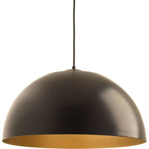 Dome Antique Bronze LED 22-Inch One-Light Pendant