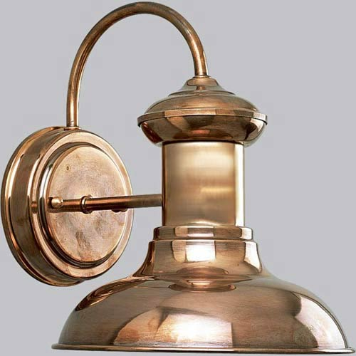 P5721-14:  Brookside Copper One-Light Outdoor Wall Lantern