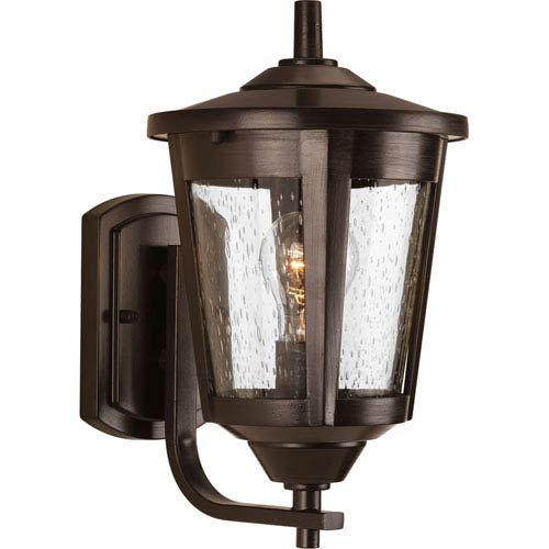 East Haven Antique Bronze Eight-Inch One-Light Outdoor Wall Sconce