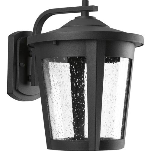 East Haven Black LED 10-Inch One-Light Outdoor Wall Sconce