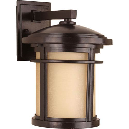 Wish Antique Bronze Nine-Inch One-Light Outdoor Wall Sconce