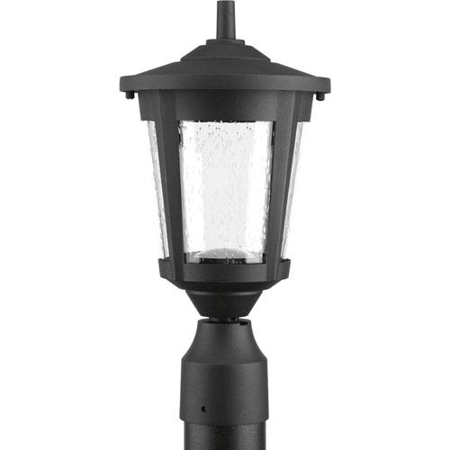 East Haven Black LED One-Light Outdoor Post Light