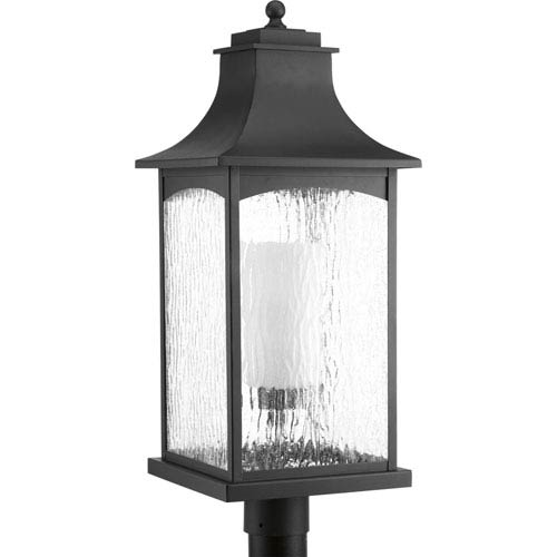 Maison Black One Light Outdoor Post Clearance