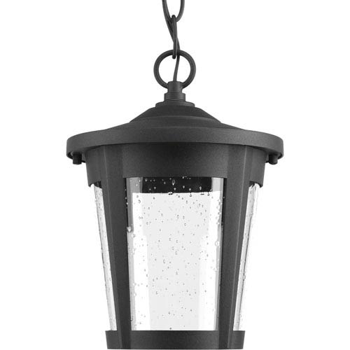 East Haven Black LED One-Light Outdoor Pendant