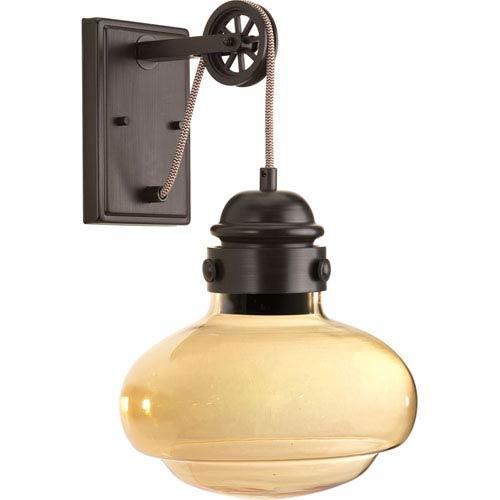 Beaker Antique Bronze LED One-Light Wall Sconce