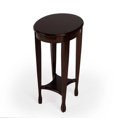 Chestnut Burl Accent Table