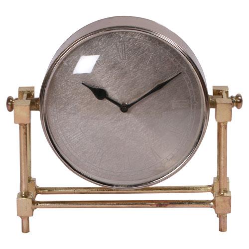 Rockwood Brass Tabletop Clock