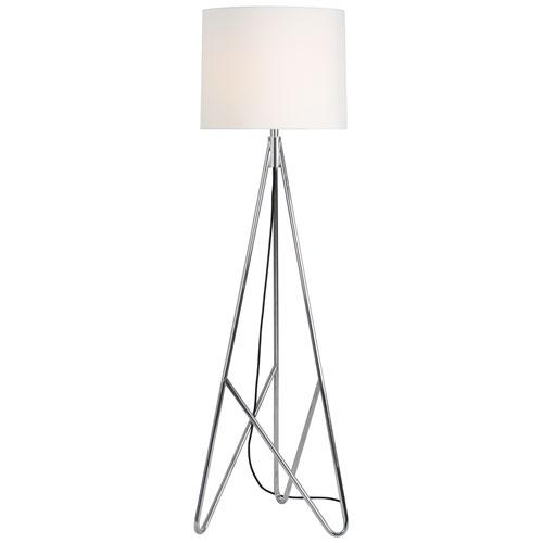 Randolph Chrome Floor Lamp