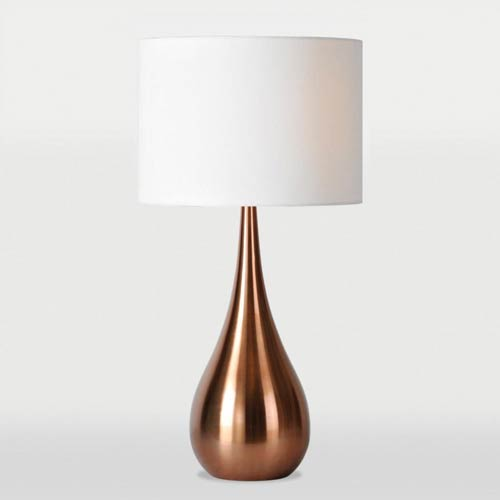Pandora Copper One-Light Table Lamp