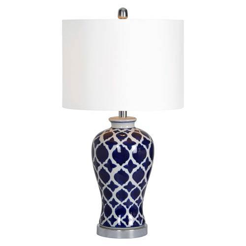 Indigo One-Light Table Lamp