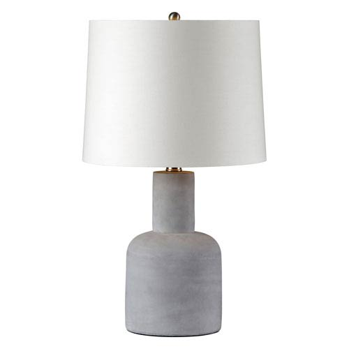 Ren-Wil Concept Grey One-Light Table Lamp