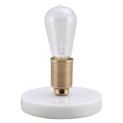 Henderson White Marble Table Lamp