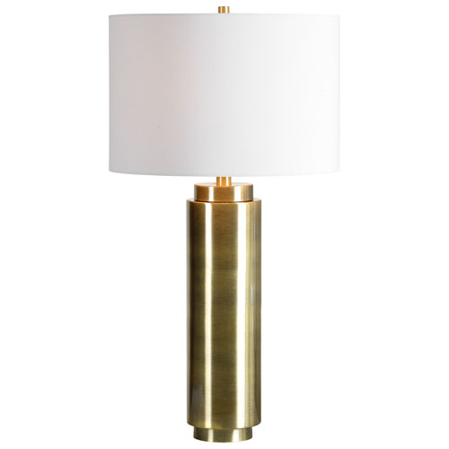 Amelia Bright Nickel Table Lamp