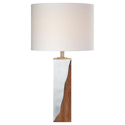 Ren Wil Maple Sesham Wood Table Lamp