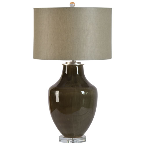 Ren-Wil Camelot Gray Table Lamp