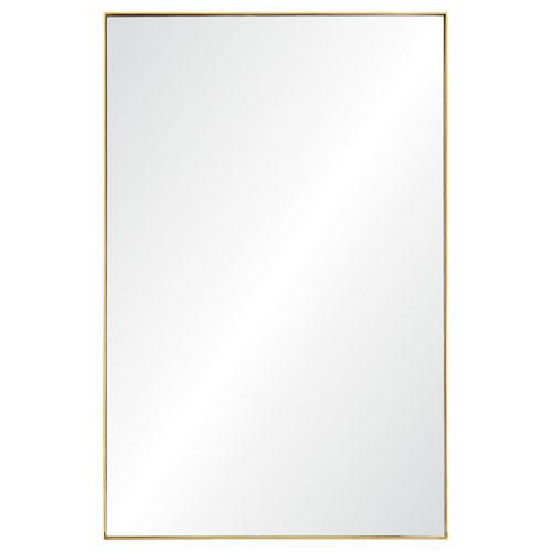 Florence Gold Rectangular Mirror
