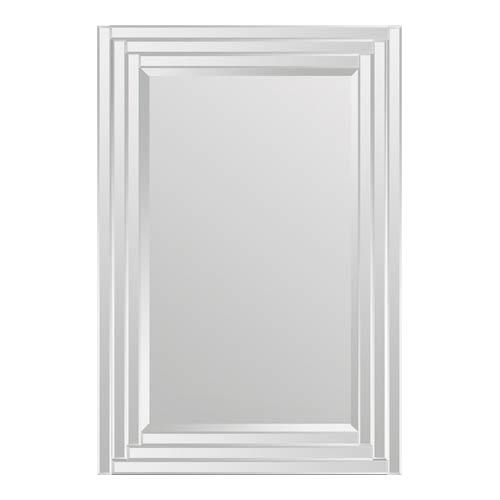 Ren-Wil Brynn All Glass 24-Inch Rectangular Mirror