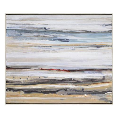 Ren-Wil Desert Road By Lecavalier: 48 x 40-Inch Canvas Wall Art