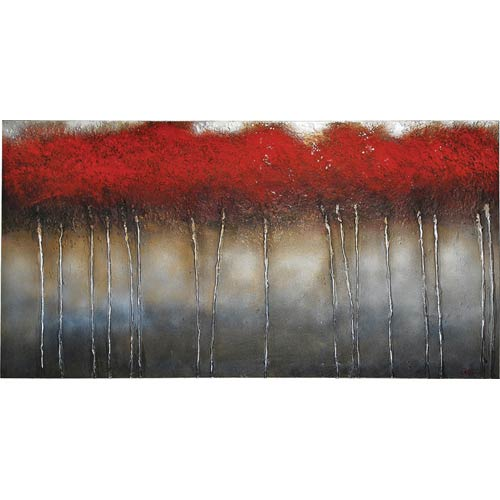 Ren-Wil Crimson Forest by Patrick St. Germain : 60 x 30 Wall Art