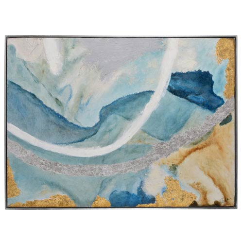 Tide Pool II 49 x 37 In. Framed Canvas