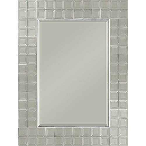 Ren-Wil Roslyn Glass Rectangular Mirror