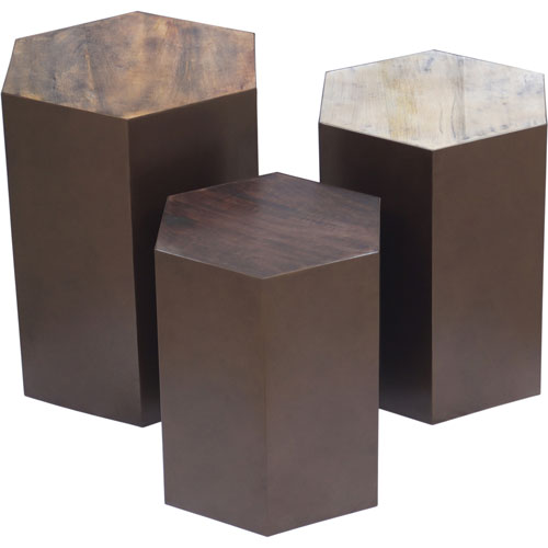 Giants Causeway End Tables, Set of Three