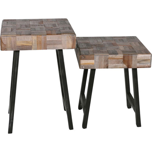 Eugene End Tables, Set of Two